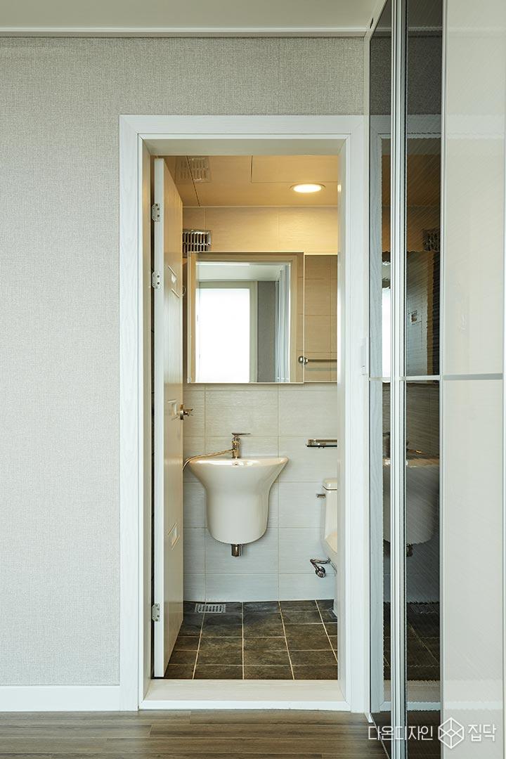 안방욕실,화이트