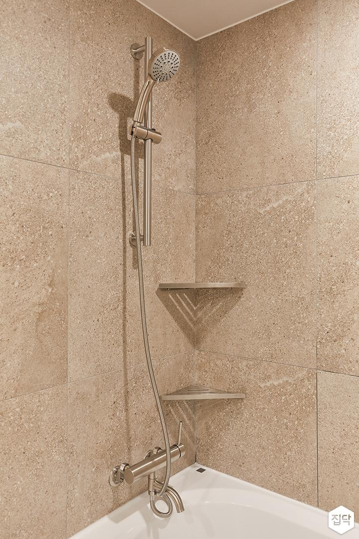 아이보리,모던,내추럴,욕실,포세린,샤워기