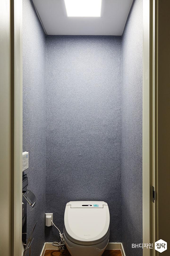 퍼플,용변기,LED조명