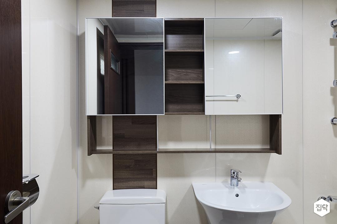 슬라이딩장,화장실,욕실,거울