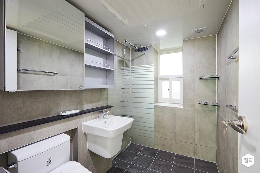 욕실,화장실,파티션,해바라기샤워기,샤워부스