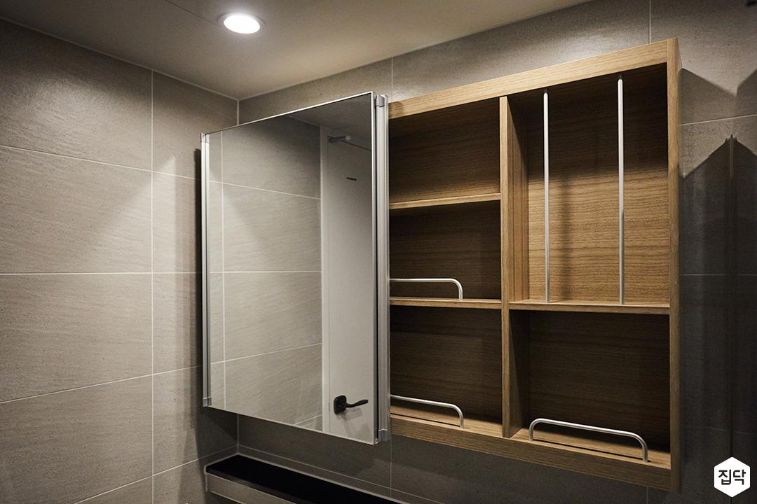 슬라이딩거울장,수납장,욕실