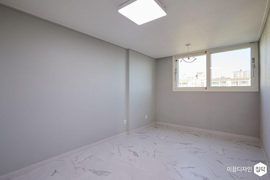 방,그레이,심플,LED조명,비앙코카라라