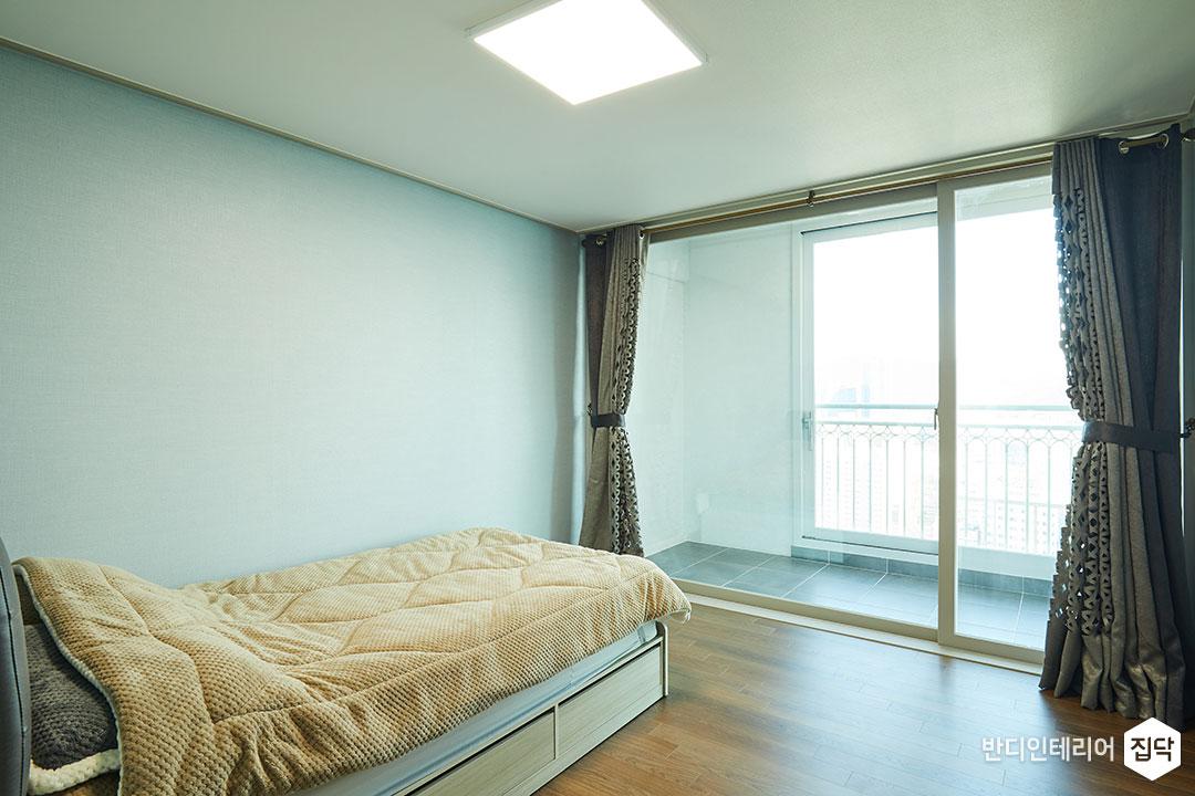 침실,그레이,심플,LED조명