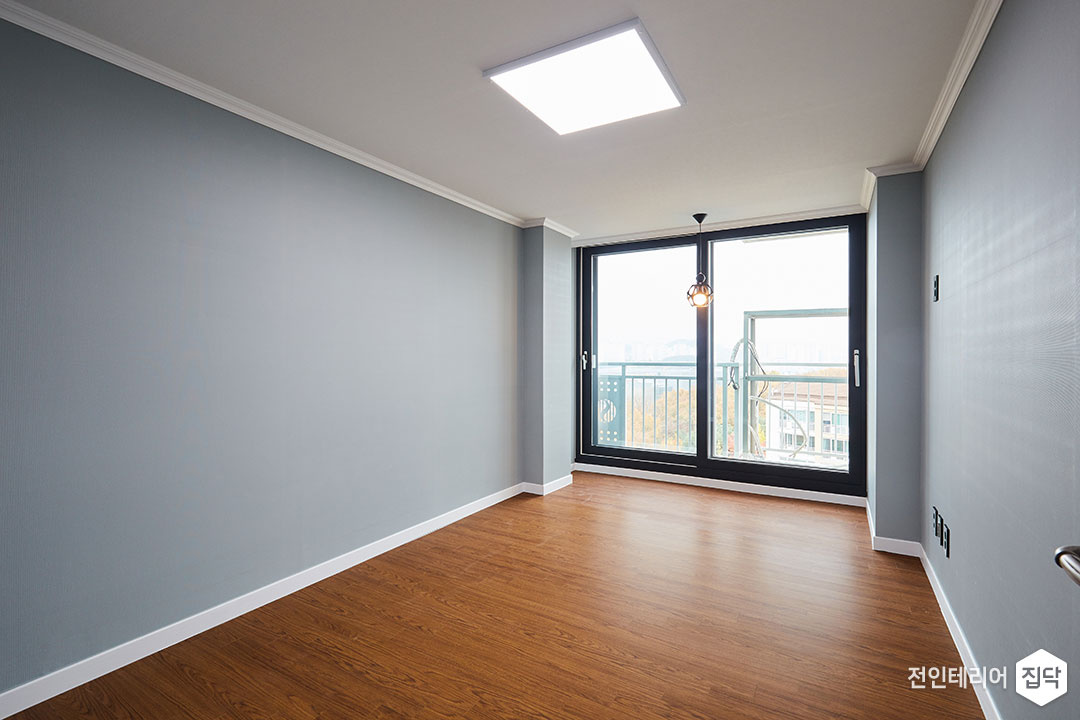 작은방,블루,심플,LED조명,슬림엣지조명