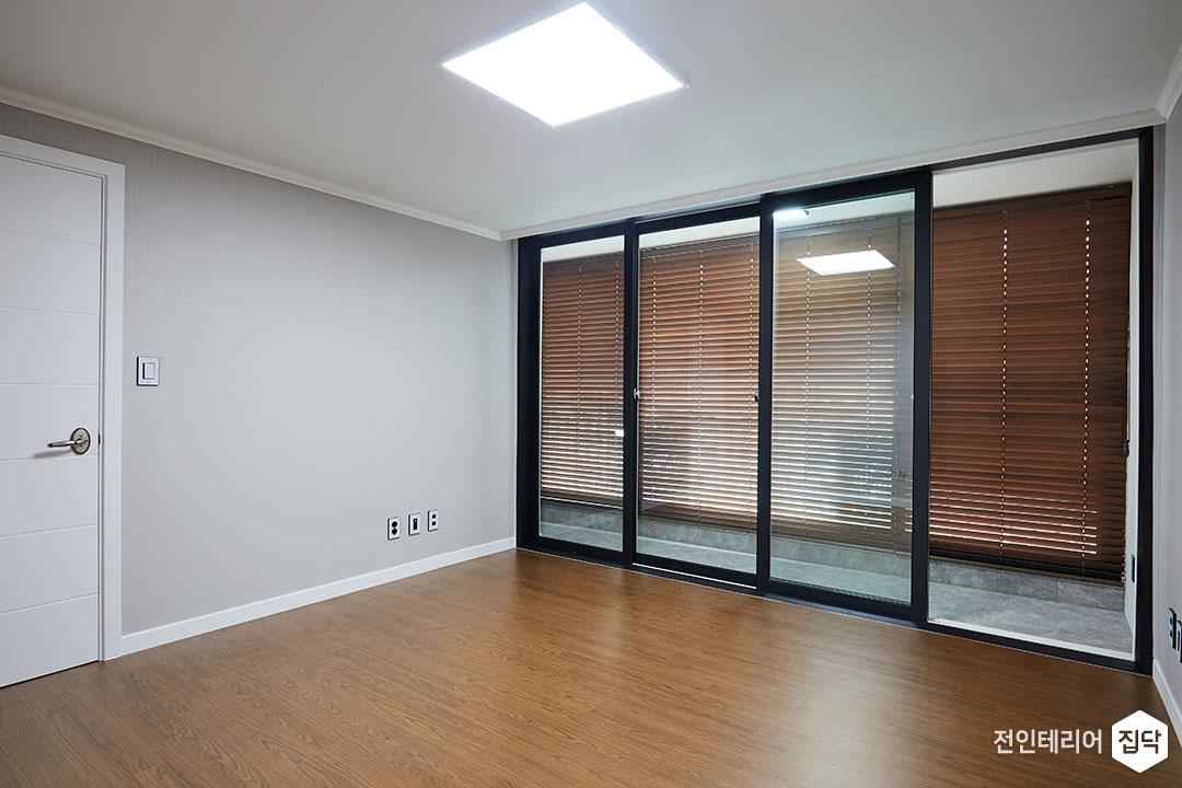큰방,그레이,심플,LED조명,슬림엣지조명