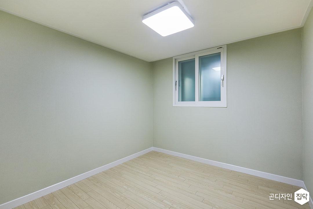 작은방,그린,심플,LED조명