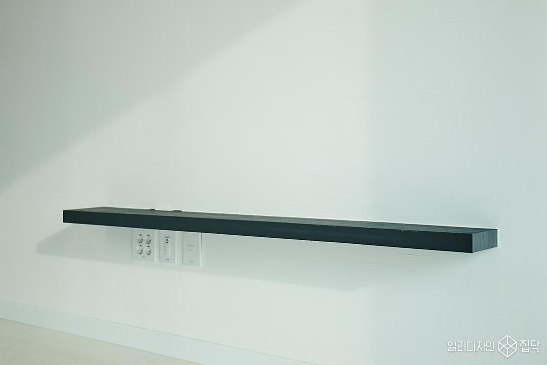 블랙,화이트,무지주선반,선반