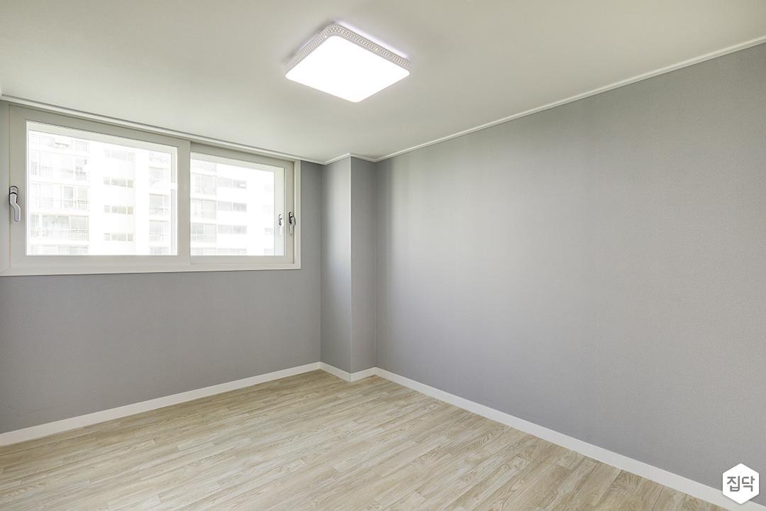 그레이벽지,LED조명,장판