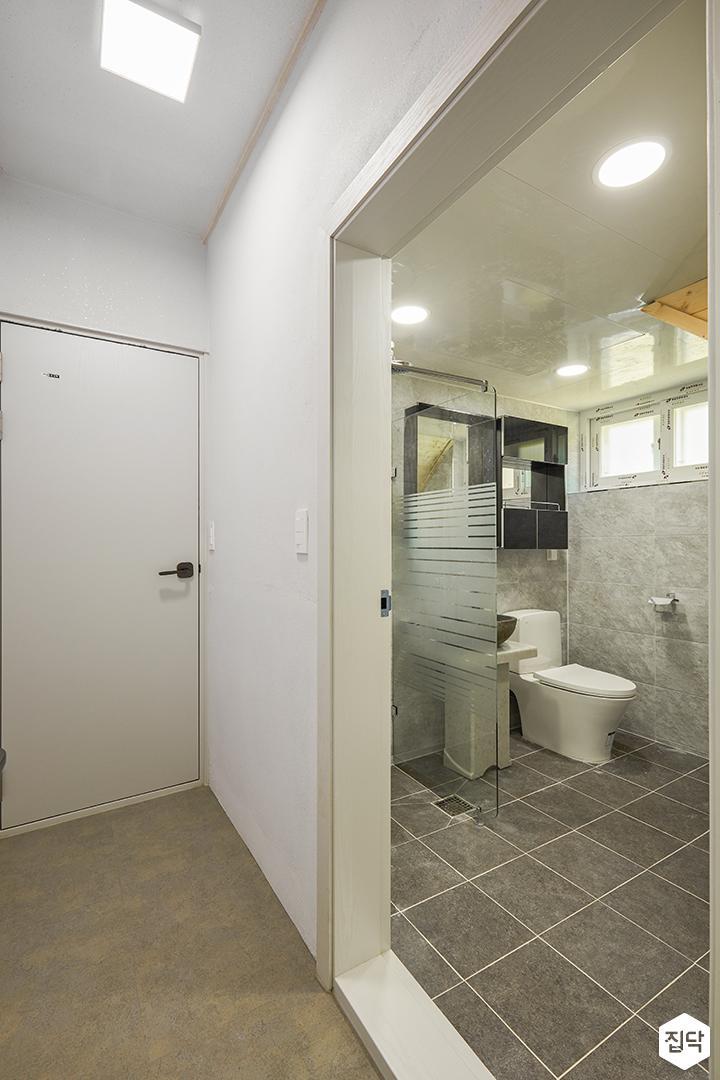 욕실,화이트