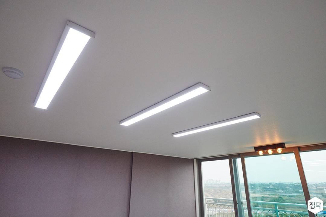 LED조명,매립등,거실,거실조명,심플