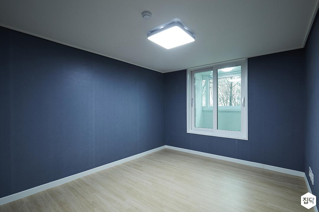 방,네이비,모던,LED조명,샤시
