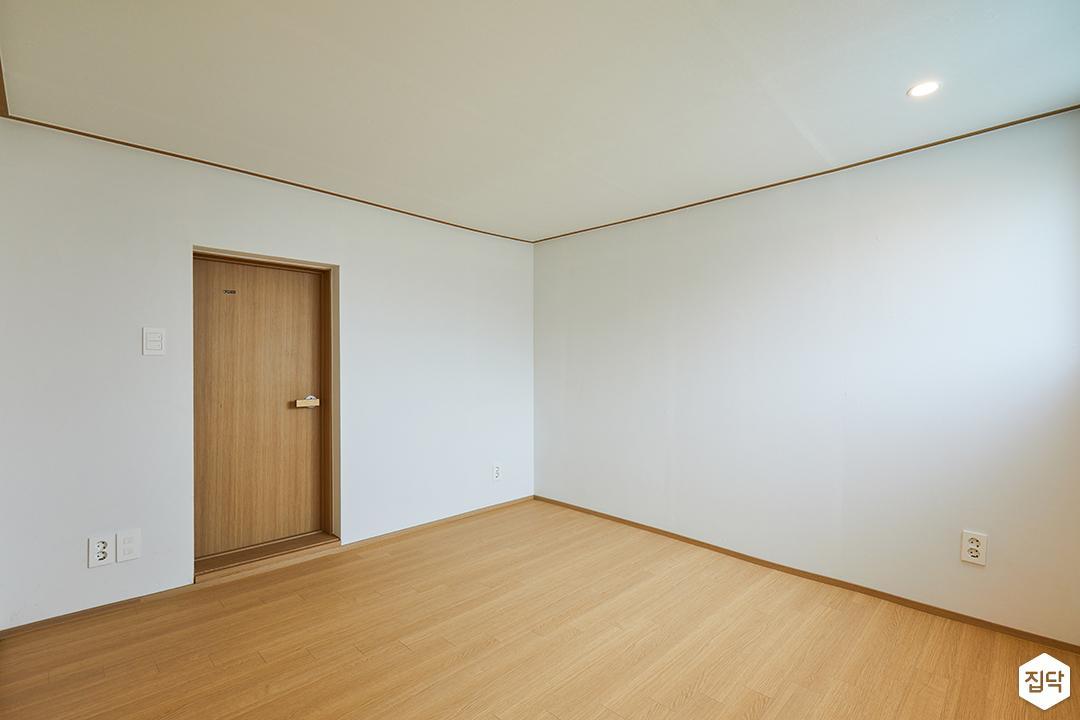 방,화이트,내츄럴,다운라이트조명,우드