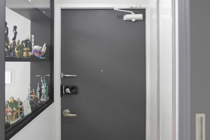 현관,방화문,그레이,화이트,모던
