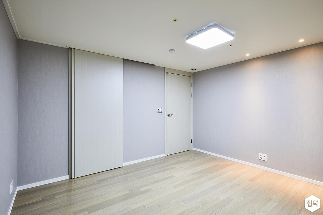 안방,그레이,심플,LED조명,슬라이딩조명
