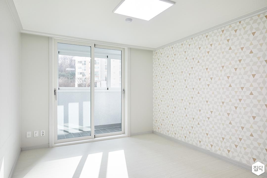 방,화이트,심플,LED조명