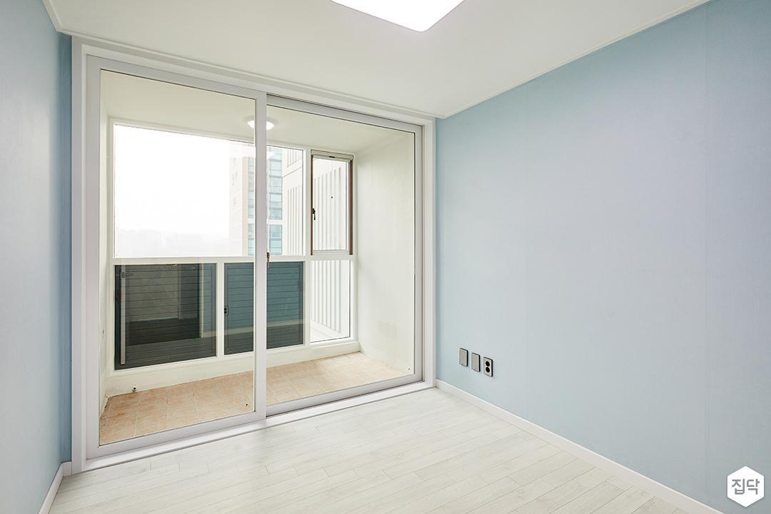방,블루,심플,LED조명