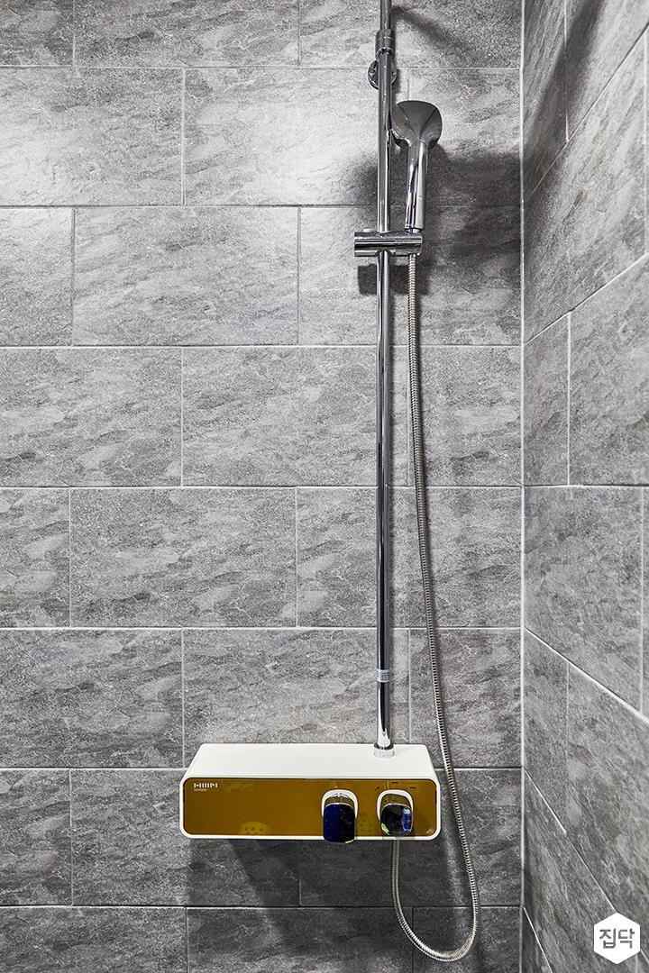 욕실,그레이,빈티지,샤워기