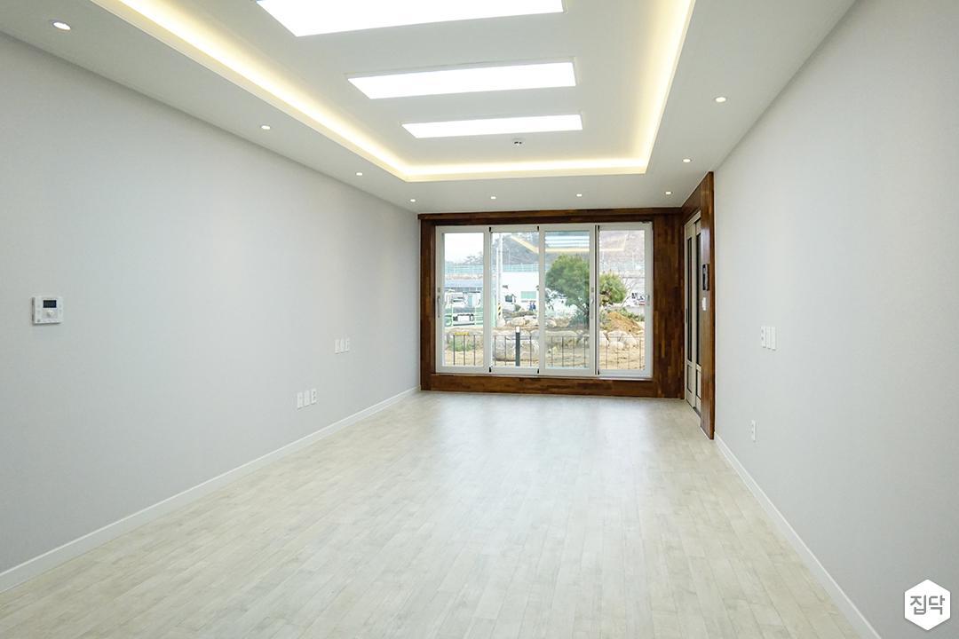 거실,그레이,심플,LED조명,슬림엣지조명,간접조명