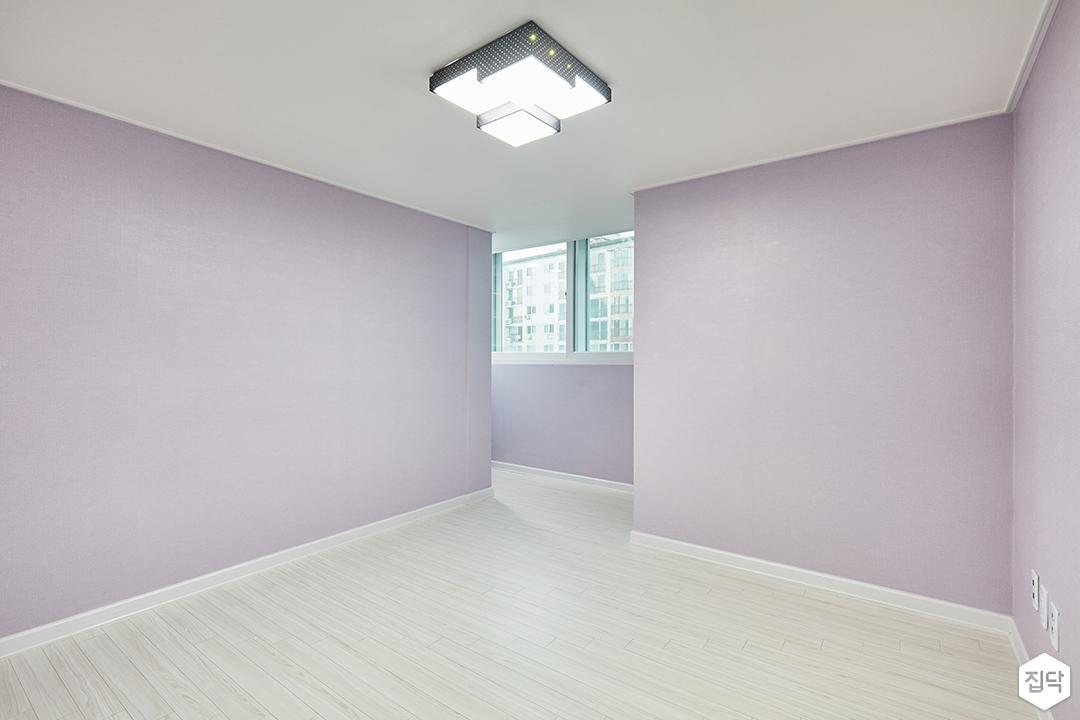 방,퍼플,심플,led조명,벽지