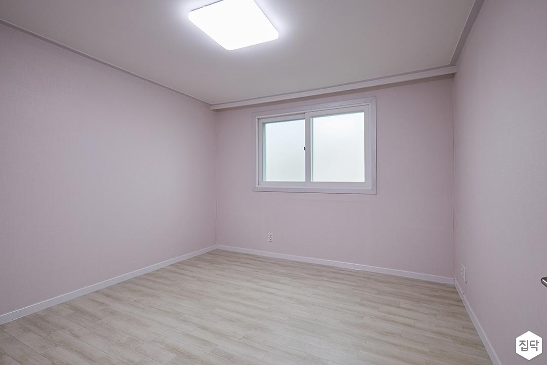 방,핑크,심플