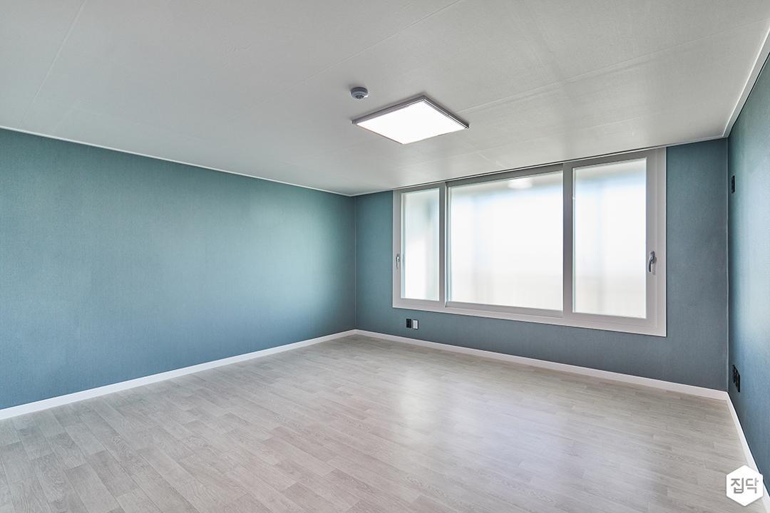 블루,벽지,방,샤시,모던,그레이