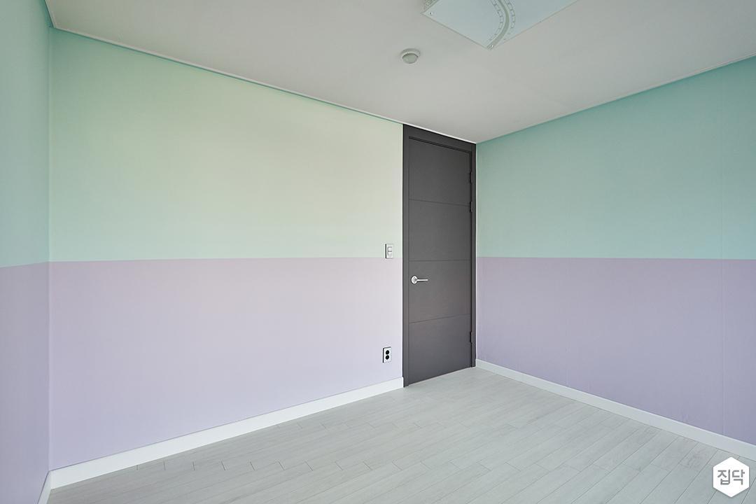 투톤,방,모던,퍼플,블루