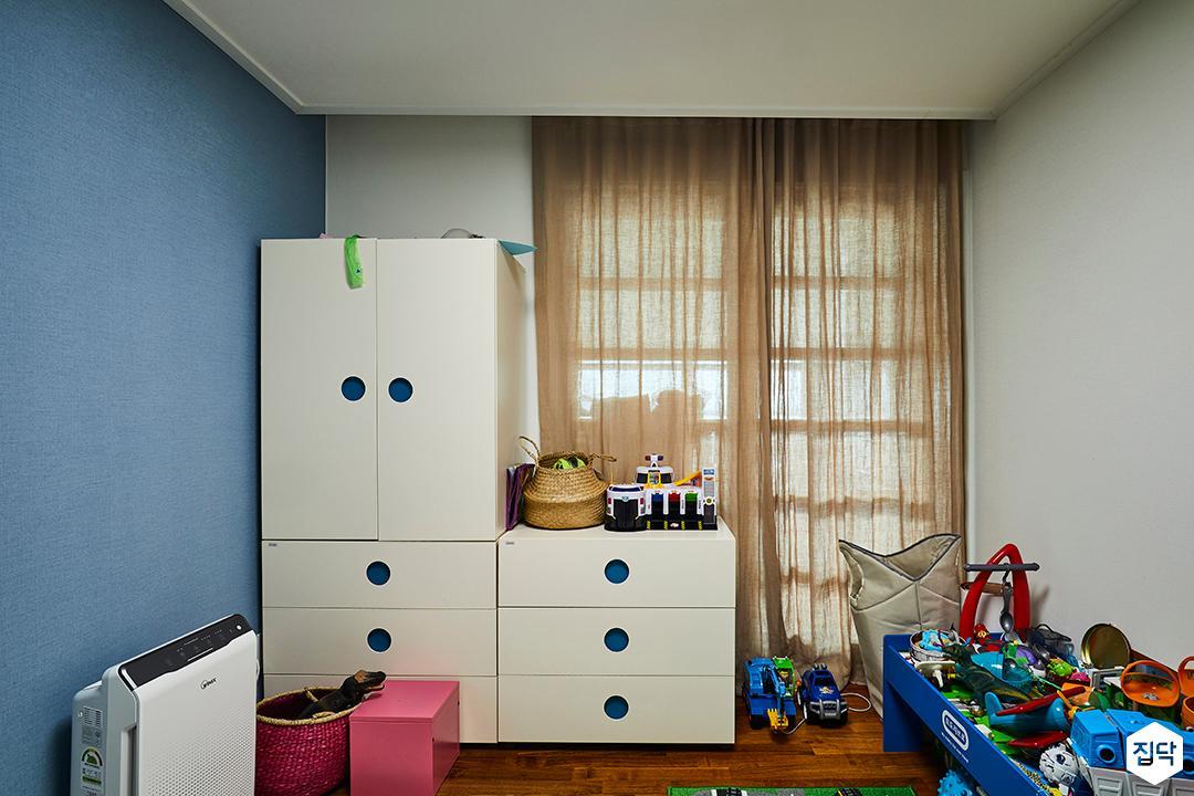 방,블루,커튼,모던