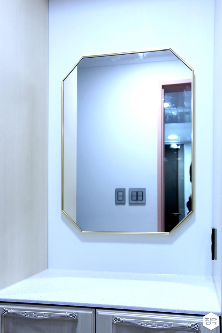 거울,화이트,파우더룸