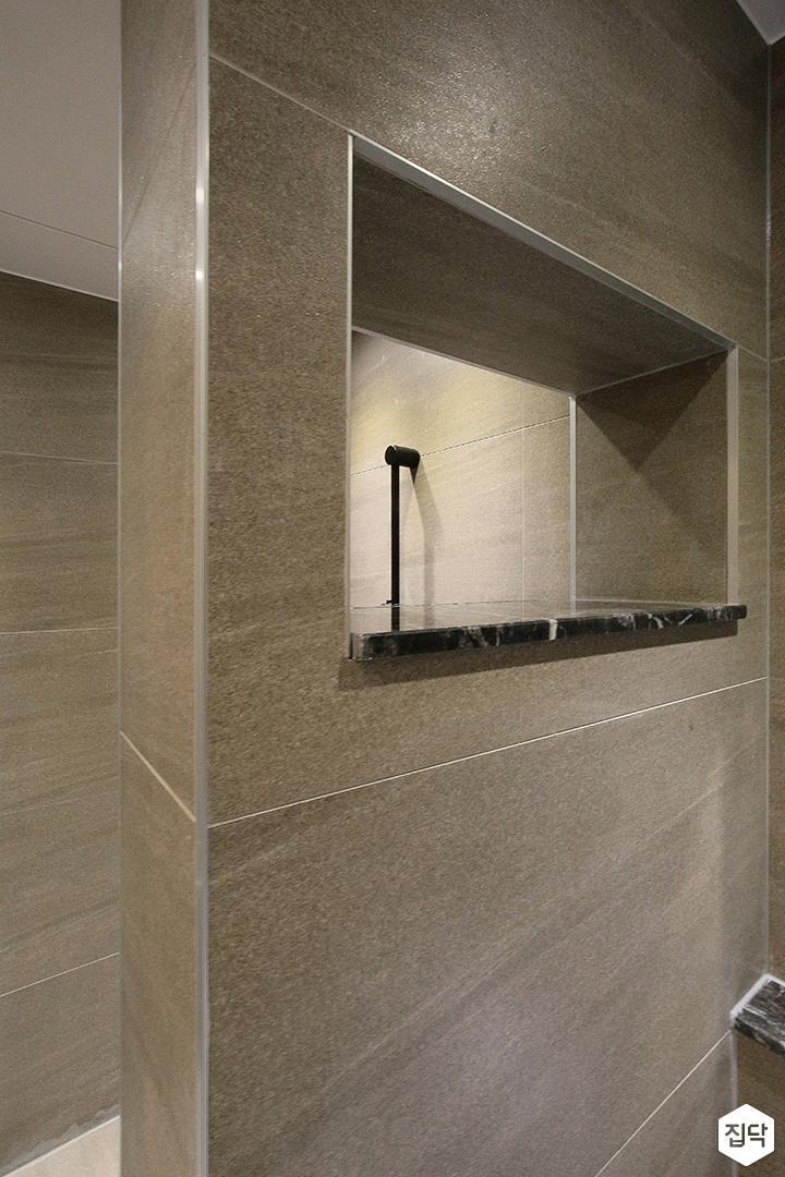 욕실,그레이,모던,가벽,샤워부스