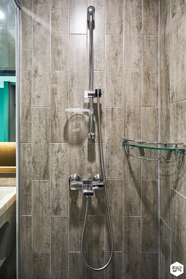 베이지,모던,심플,샤워기,코너선반,샤워룸