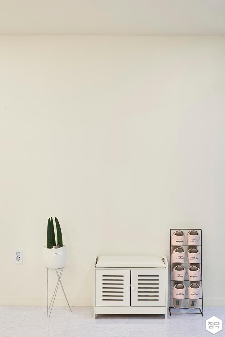 화이트,심플,철재수납장,플렌트