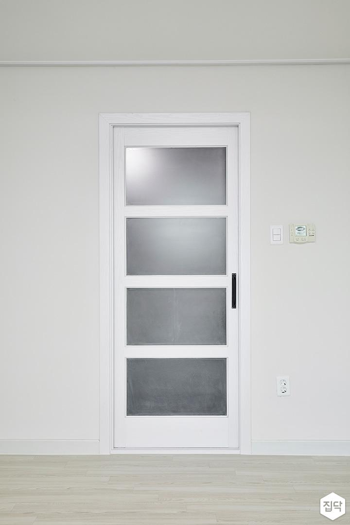 욕실문,불투명유리,심플,화이트