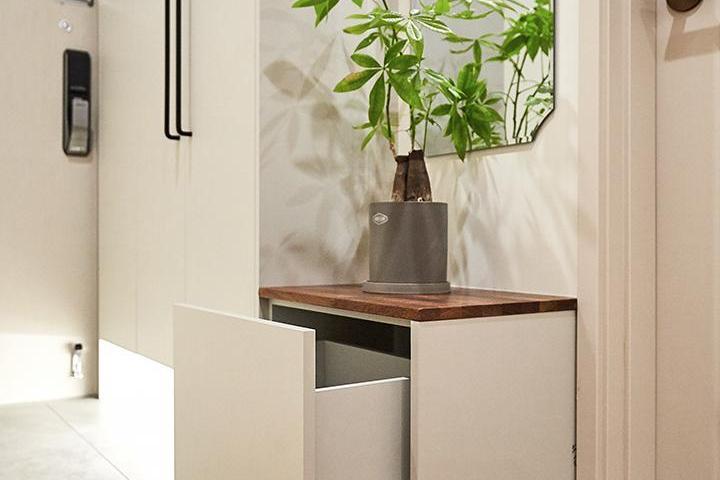 수납장,우드,식물소품,강마루,거울