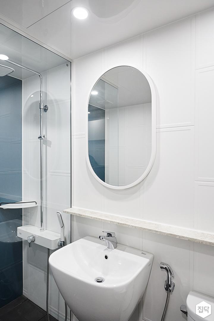 욕실,세면대,파티션,그레이,화이트,모던,블루