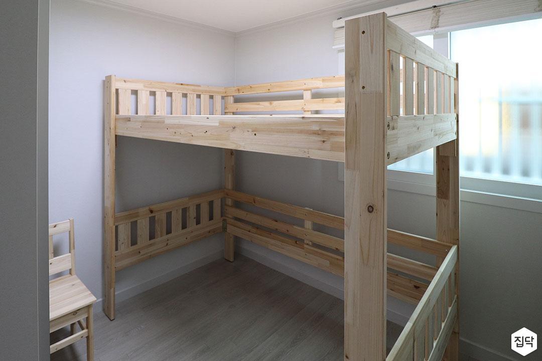 2층침대,우드,그레이,내츄럴