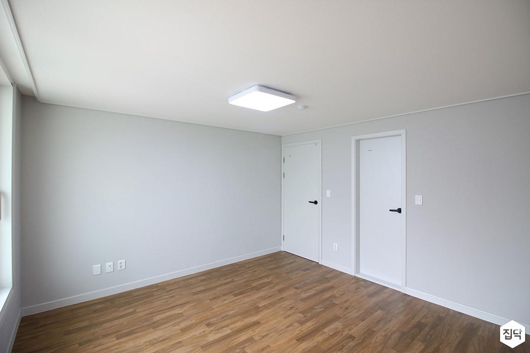 방,심플,화이트,led조명