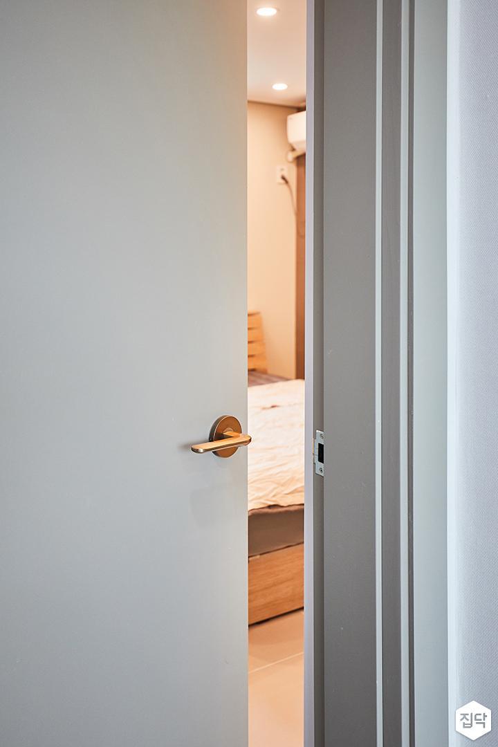 문,심플,그레이,다운라이트조명
