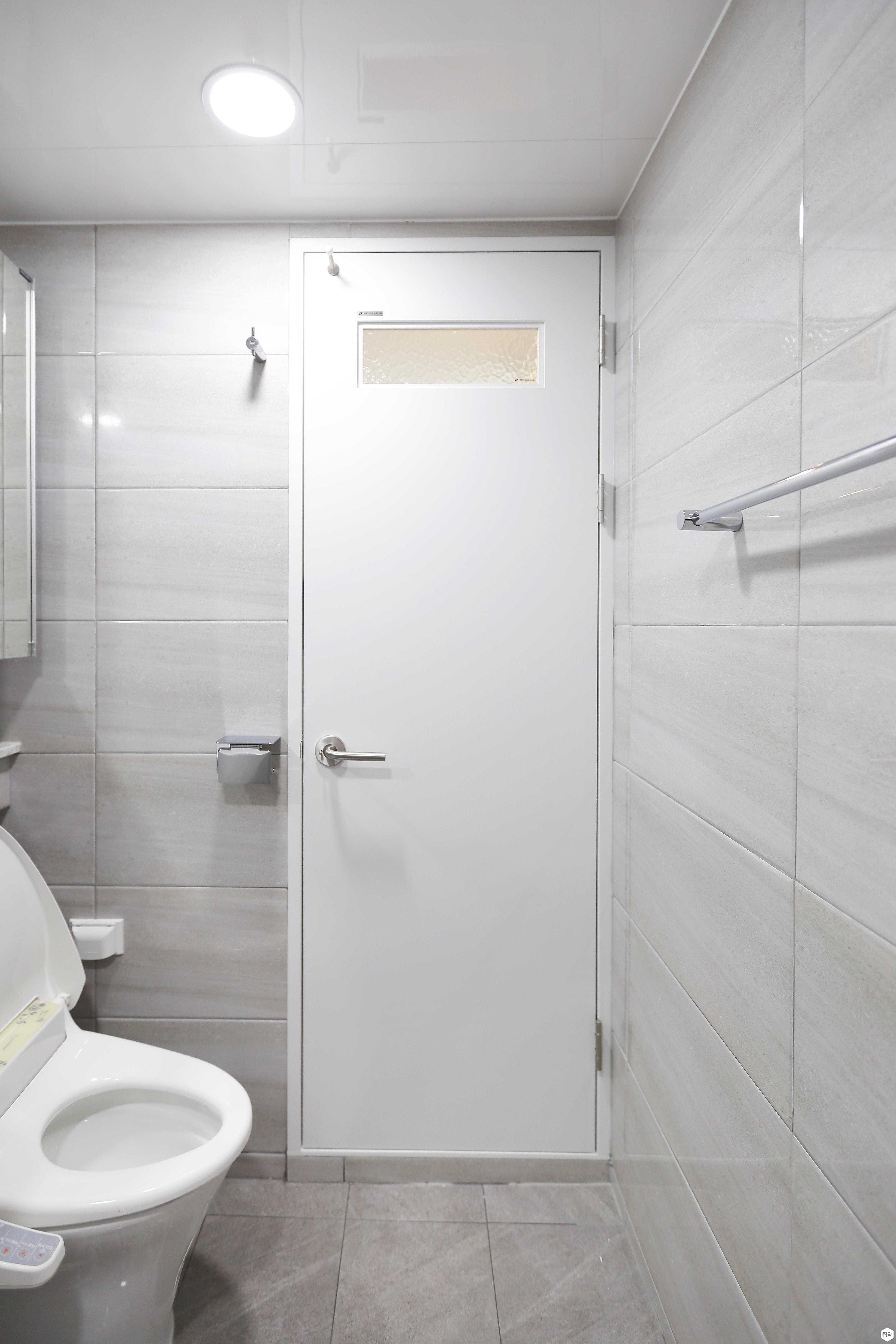 아이보리,심플,욕실,화장실,욕실타일
