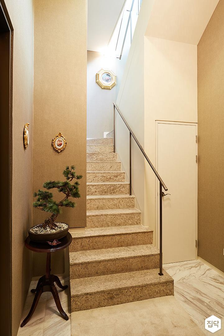 계단,대리석,심플,클래식,2층