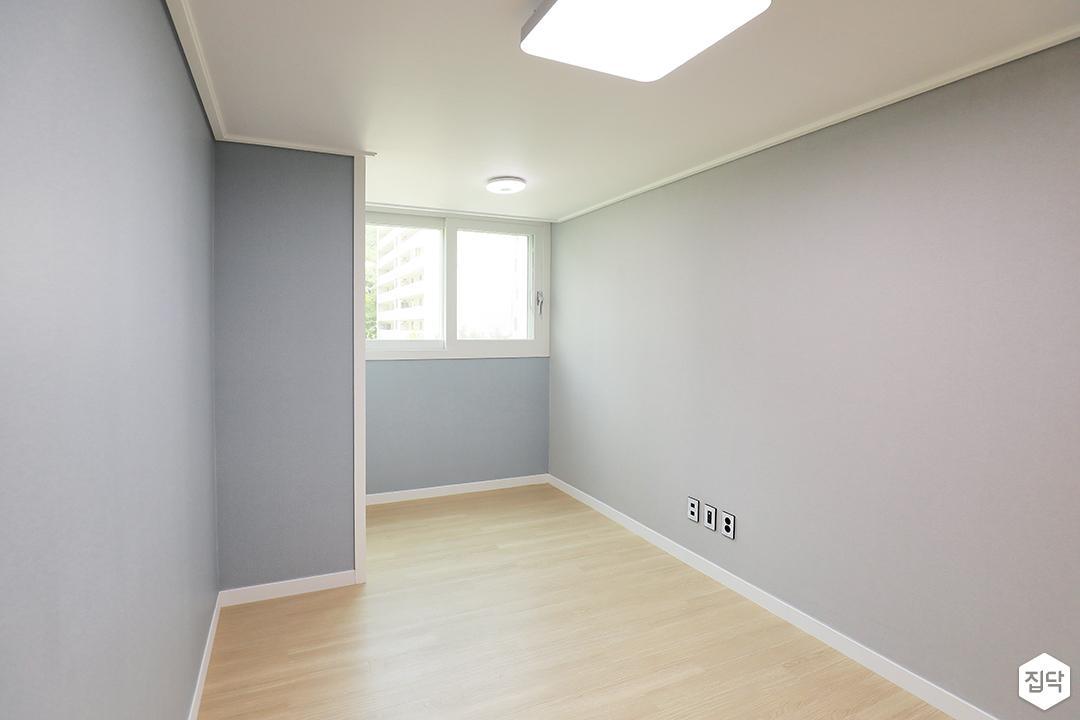 블루,모던,심플,침실,침실조명,마루바닥