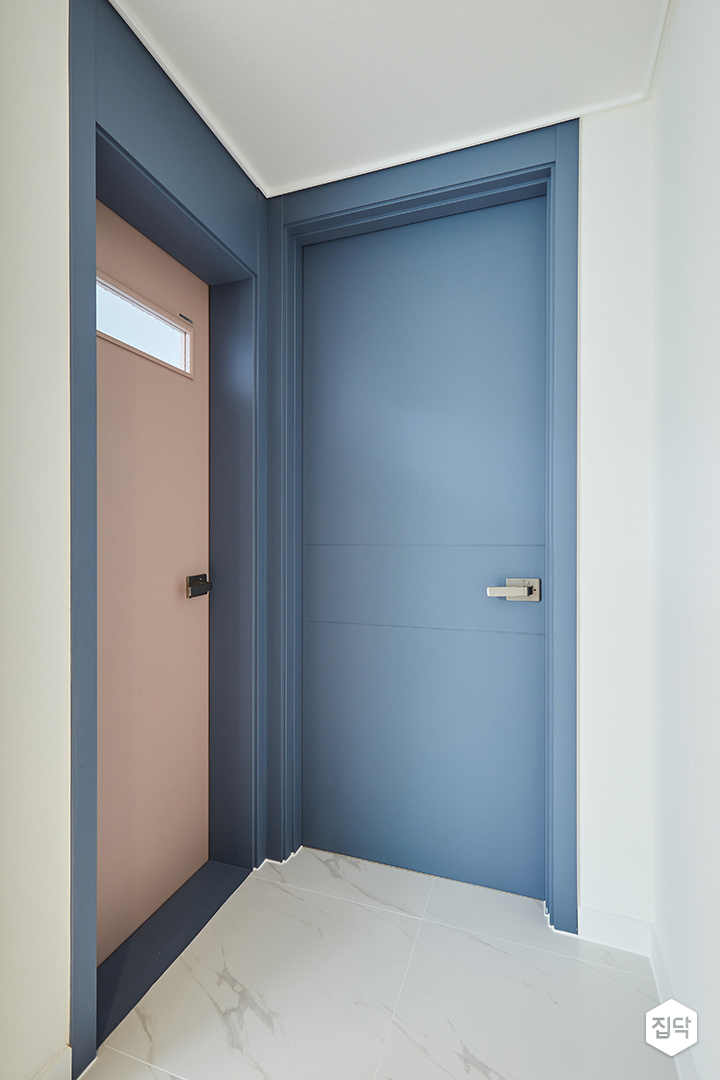 블루,문,핑크