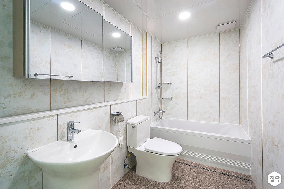 화이트,모던,심플,욕실,욕실수전,욕조