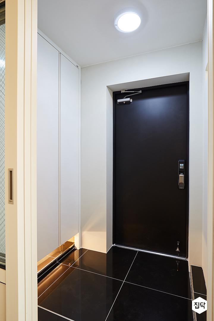 현관,방화문,간접조명,신발장,바닥타일