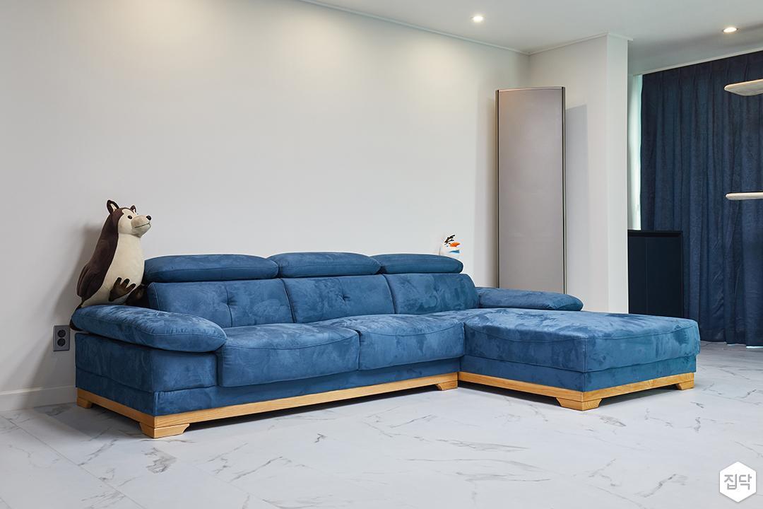 화이트,블루,모던,심플,거실,거실조명