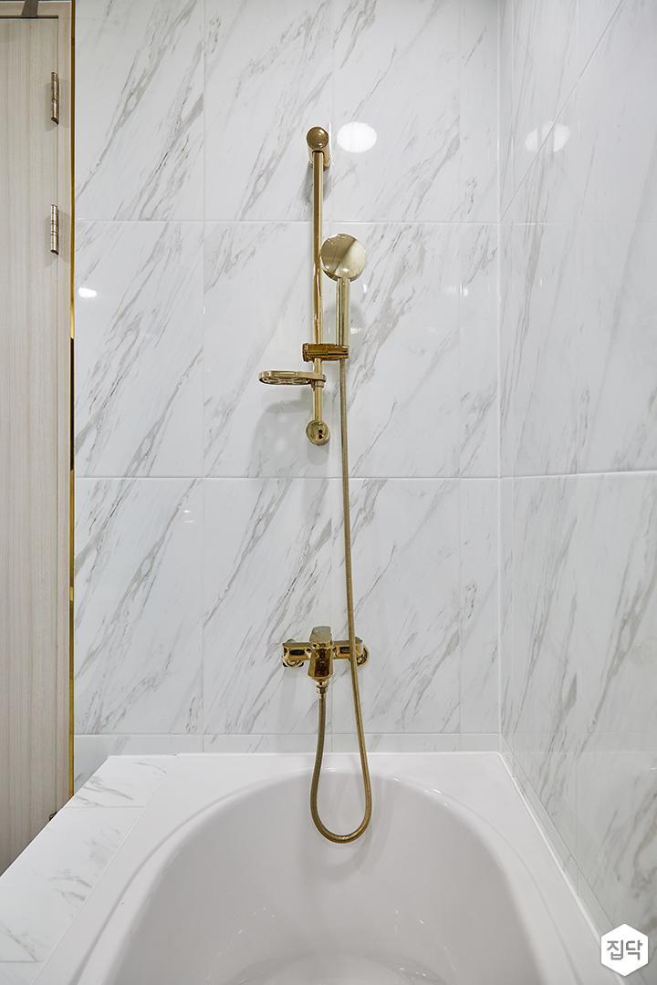 화이트,골드,럭셔리,욕실,욕실조명,욕조,샤워기