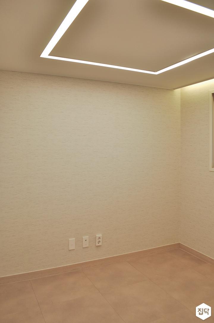 화이트,미니멀,심플,방,포세린,LED조명
