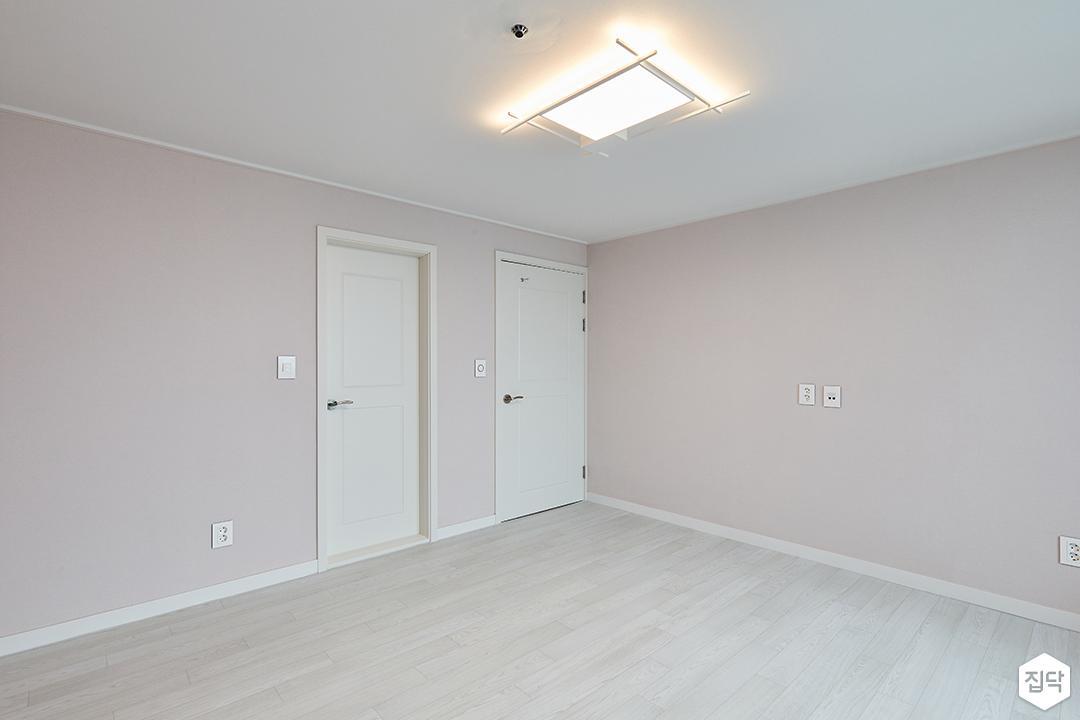 핑크,모던,심플,안방,실링라이트