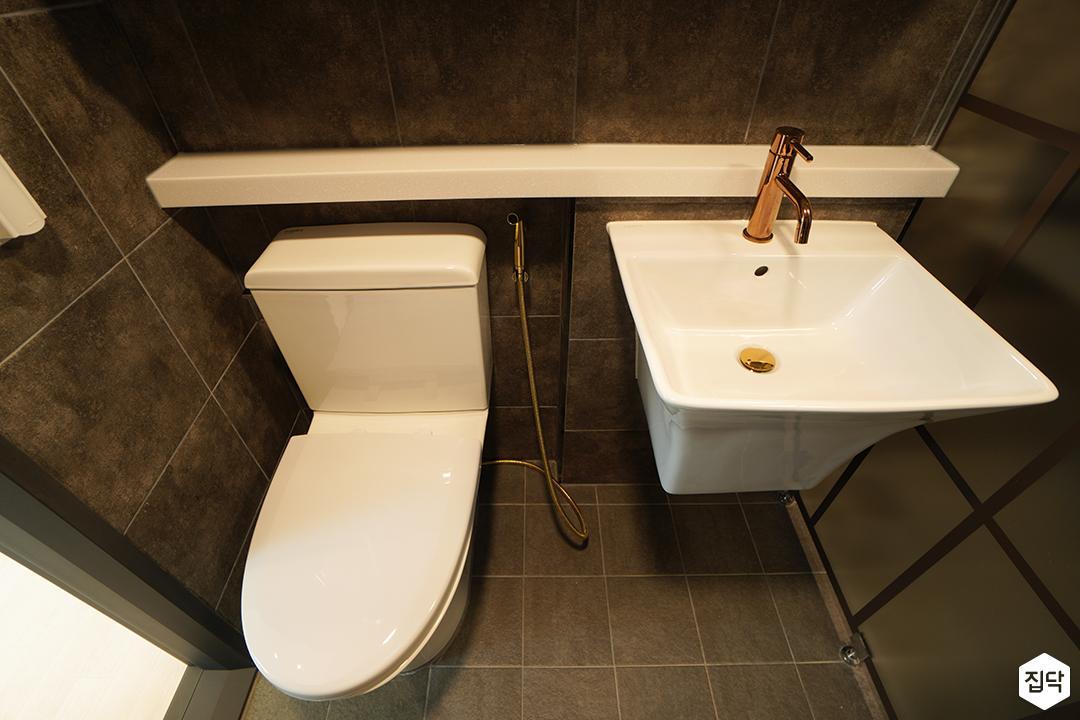 그레이,모던,욕실,수전,세면대