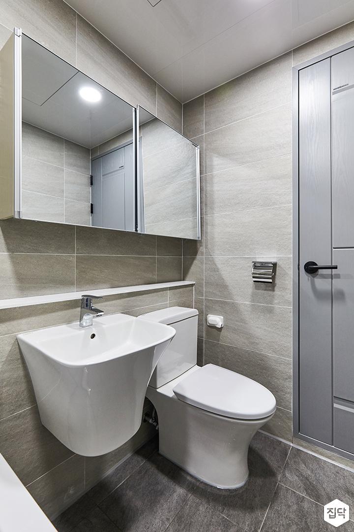 화이트,브라운,모던,욕실,포세린,매립등,수납장,세면대,욕조,거울